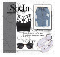"""Shein"" by alinka-titova ❤ liked on Polyvore"