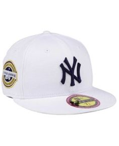 0aa9a6e92fb New Era New York Yankees The Ultimate Patch Collection Stadium 59FIFTY Cap  - White 7 5