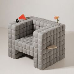 The Pincushion Chair (viz Gizmodo)
