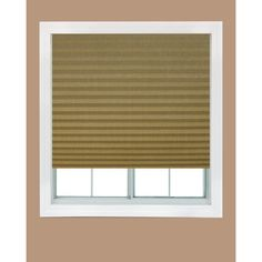 Redi Shade White Paper Light Filtering Pleated Shade - 48 in. W x 72 in. L - The Home Depot Temporary Shades, Light Filtering Shades, Living Room Blinds, Blinds Design, Blinds, Blinds Home Depot, Paper Light, Blinds For Windows, Diy Blinds