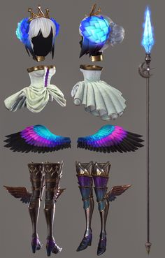"""Reference by """"Odin Sphere""""  Tools used: Autodesk Max, Photoshop, Zbrush, Marmoset Toolbag 2, Substance Painter"""
