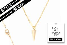 STYLE BREAK! Get the Anisa Necklace for $21.  Today Only!    http://langsluxuries.kitsylane.com