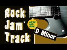 Rock Backing Track D Minor D Minor, Backing Tracks, Cool Guitar, Cool Words, It Works, Play, Rock, Fun, Fin Fun
