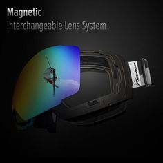 The affordable Ski Goggles that pro riders trust. With magnetic interchangeable lens system. More than 20 different lenses available - Get yours today!