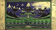 ¤ The original 1935 first edition of The Hobbit, featuring Tolkien's own artwork and design¤