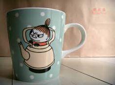 vulegnarts: Moominvalley's 'Little My' mug Finland Moomin Mugs, Moomin Valley, Tove Jansson, My Cup Of Tea, Little My, Finland, Illustration Art, Illustrations, Tea Cups