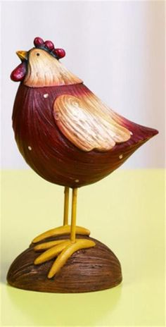 Small Rustic Rooster