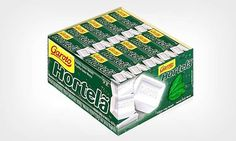 BALA DE HORTELÃ GAROTO - Reprodução