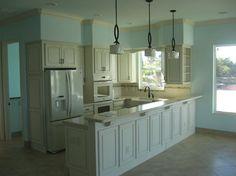 Allen beach house kitchen - mediterranean - kitchen - tampa - Jim Finch Architecture