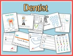 February is National Children's Dental Health Month. Use these FREE printables to help teach your preschooler and tots about dental health.