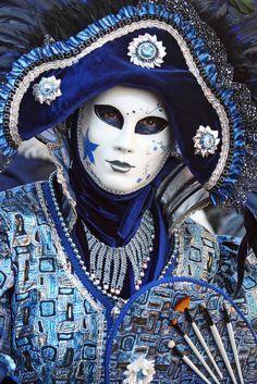1 blue masquerade costume                                                       …