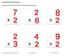Touch Math Games n More Touch Point Math, Touch Math, Save Link, Math Multiplication, Math Intervention, Math Concepts, Common Core Math, Math Worksheets, Math Games