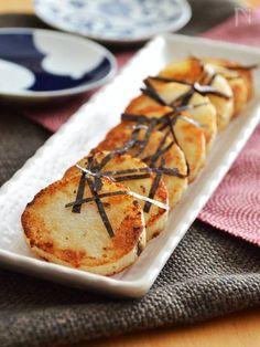 長芋のバター醤油焼き。箸が止まらない!