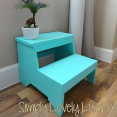 Vintage Step Stool   Do It Yourself Home Projects from Ana White