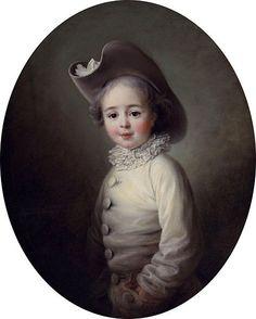 François Hubert Drouais (1727 – 1775, French)Miniature?