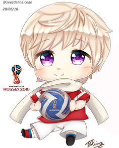 love how I drew (without boasting) I think he is too cute in this photo. I wanted to draw this drawing for the opening of the Football