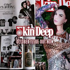 Find us in this months issue of @skindeep_uk magazine & get yourself an exclusive Skin Deep discount code - www.crmc-clothing.co.uk #tattoomag #skindeep #altfashion #magazine #alternative #alternativefashion #alternativestyle #tattoomagazine #fashionstatement #skindeepuk #fashionista #skindeeptattoo #skindeepmagazine #tattoos #tattooed #tattooartist #tattoo #tattooists #tattooer #want #style #alternativeguy #alternativeboy #alternativegirl #alternativeteen #advertising #advert #branding