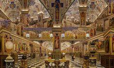 Vatican, série Bibliothèques romaines, 2011  180x300cm.