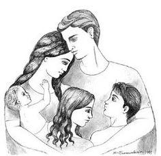 Ασπάζομαι την μάνα που μεγαλώνει με θυσίες τα παιδιά της, μα και εκείνη που η καρδιά της λαβώθηκε γιατί μωρό δεν κράτησε στην αγκαλιά της. Είναι το ίδιο ιερές...   Τον πατέρα που ξυπνά και χάνεται στους δρόμους για να θρέψει την οικογένεια του. Που δεν ζει, για να ζήσουν οι άλλοι. Αλλά κι εκείνον που άνεργος δακρύζει στα αιτήματα των παιδιών του... Μνήσθητι Κύριε στο πόνο, τους καημούς και τα δάκρυα των ανθρώπων.