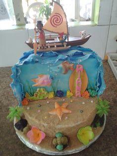Moana cake for Riana