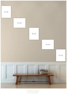 Learn how to design, plan and hang your own staircase gallery wall! I'm walking you through my thought process from start to finish complete with photos. Picture Wall Staircase, Stair Photo Walls, Stairway Gallery Wall, Staircase Wall Decor, Stair Gallery, Hallway Wall Decor, Staircase Remodel, Stairway Photos, Gallery Walls
