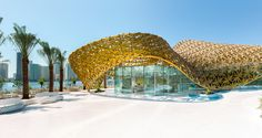 Butterfly Pavilion – Noor Island | Sharjah | United Arab Emirates | Metal in Architecture 2016 | WAN Awards