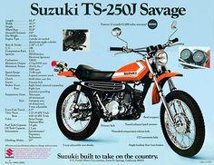 1972 Suzuki TS250J Savage USA