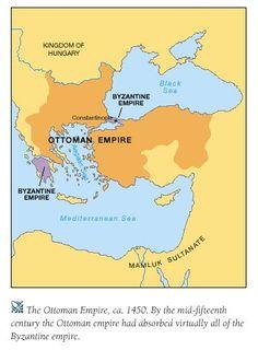 World Empire, Fall Of Constantinople, Ancient Greek City, Ottoman Turks, Roman Emperor, Ottoman Empire, Mediterranean Sea, British Isles, Byzantine