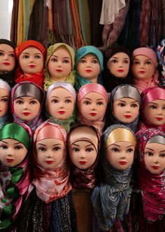 Doll shop in Fes, Morocco.