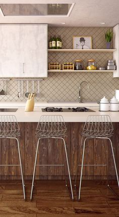 Update your kitchen with these 10 budget friendly decorating ideas and transform your cooking space for less.