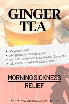 How to get rid of morning sickness during pregnancy? Stop morning sickness with these natural remedies. Including tips & tricks to relieve nausea and vomiting. Natural Hemroid Remedies, Natural Add Remedies, Natural Remedies For Migraines, Remedies For Nausea, Cold Home Remedies, Herbal Remedies, Morning Sickness Relief, Morning Sickness Remedies, Anti Nausea