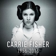 """""""Carrie holds such special place in the hearts of everyone at Lucasfilm it is difficult to think of a world without her.  She was Princess Leia to the world but a very special friend to all of us.  She had an indomitable spirit, incredible wit, and a loving heart.  Carrie also defined the female hero of our age over a generation ago.  Her groundbreaking role as Princess Leia served as an inspiration of power and confidence for young girls everywhere. We will miss her dearly."""" -Kathleen…"""