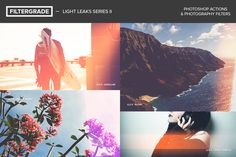 Check out FilterGrade Light Leaks Series II by FilterGrade on Creative Market
