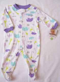 NWT Carter/'s PJs pajamas Girl Thing Wings Sisters 2T 4T