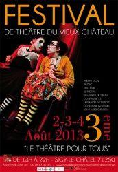 Festival de Théâtre du Vieux Château, Sigy-le-Châtel, Bourgogne
