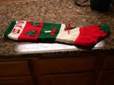 specialties in wool knitted christmas stockings ornaments