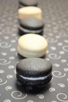 Gourmet French Macaron Licorice macaron by IndayaniBakedGoods, $18.75