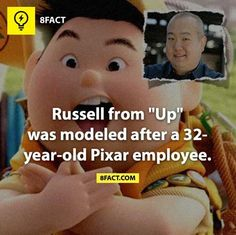 How awesome would it be to be THE inspiration for a Pixar character! :D well....I mean....unless you are the most hated character in every movie ever. ;D