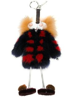 227d8d3c8e34 Fendi Witches Fur Bag Charm  1,300.00 Fendi Charm, Fur Bag, Leather And  Lace,