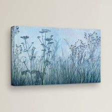 'Wildflowers Early' on Gallery-Wrapped Canvas
