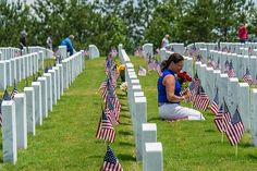 Memorial Day remembering the people who died while serving in the country's armed forces