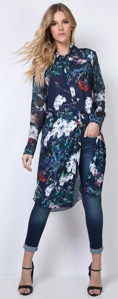 New Dress Spring Summer Shirts Ideas Shirtdress Outfit, Casual Dresses For Women, Casual Outfits, Fashion Outfits, New Dress, Dress Up, Dress Over Pants, Floral Print Maxi Dress, Summer Shirts