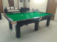JAI BALAJI BILLIARDS JBBS RAVISHING STEEL CUSHION SNOOKER TABLE - Topline pool table