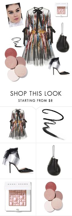 """Chanel Chic"" by tinquash on Polyvore featuring мода, Elie Saab, Maybelline, Chanel, Alexander Wang, Bobbi Brown Cosmetics и LunatiCK Cosmetic Labs"
