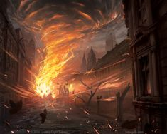 ArtStation - Cities in Ruin Expansion, Frej Agelii
