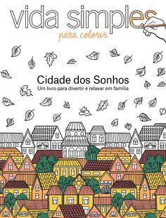 Livro de colorir Cidade dos sonhos