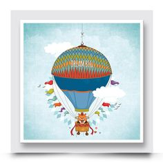Balloon Wall, Balloons, Air Balloon, Create Your Own Story, Contemporary Art Prints, Baby Boy Rooms, Baby Room, Happy Vibes, Box Frames