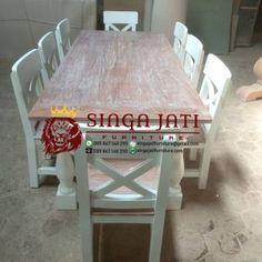 Jual Meja Makan Antik Kayu Jati Utuh Dining Table, Rustic, Furniture, Home Decor, Country Primitive, Dining Room Table, Decoration Home, Rustic Feel, Room Decor