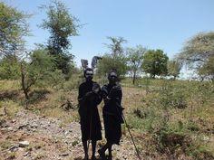 Newly made Maasai men