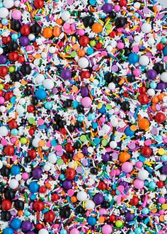 Graffiti Sprinkle Medley Colorful Sprinkle Mix by Sweetapolita